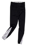 Garb Nellie Girls Golf Legging - Black/Water Colors