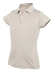 Garb Sidney Girls Golf Polo - Grey