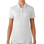 Adidas Puremotion Short Sleeve Polo - White