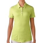 Adidas Puremotion Short Sleeve Polo - Light Yellow