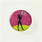 Abigale Lynn Golf Dancer Ball Marker with Hat Clip