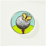 Abigale Lynn Butterfly Ball Marker with Hat Clip