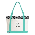 A&L Golf Lovers Tote - Black Shutters
