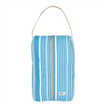 A&L Golf Signature Shoe Bag - Ticking Stripe