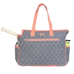 Ame & Lulu Tennis Court Bag - Nantasket