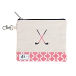 A&L Golf Crossed Clubs Tee Pouch - Clover