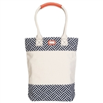 Ame & Lulu Wine Caddy Tote - Nantasket