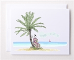 Bloom Designs Ladies Golf Note Cards - Island Golfing | Golf4Her