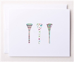 Bloom Design Note Cards - Tee Time | Golf4Her