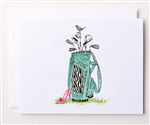 Bloom Designs Ladies Golf Note Cards - Wild Bag | Golf4Her