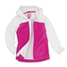 Garb Brooklyn Junior Golf Rain Jacket - Pink/White