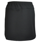 B-Skinz Textured Skort - Black Lattice