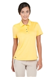 Chase54 Ladies Nonette Short Sleeve Polo Corn
