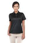 Chase54 Ladies Amie Short Sleeve Polo Onyx
