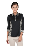 Chase54 Ladies Yopal 3/4 Sleeve Polo