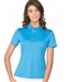 Chase54 Ladies Amie Short Sleeve Polo - French Blue