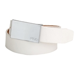 FILA White Golf Belt