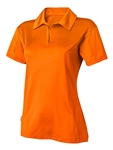 FILA Girls Genova Polo - Atomic Orange