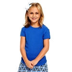 Golftini Girl Royal Blue Tee Shirt