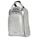 Glove It Signature Golf Shoe Bag - Silver Suede