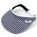 Glove It Ladies Golf Coil Back Visors - Gingham