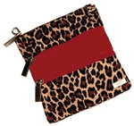 Glove It Leopard Ladies Golf 3-Zip Carry All