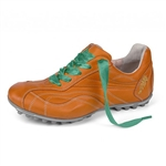 Henry & Magda Vitello/Nappa Golf Shoe - Orange