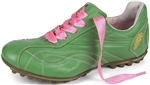 Henry & Magda Vitello/Nappa Golf Shoe - Green