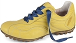 Henry & Magda Vitello/Nappa Golf Shoe - Yellow