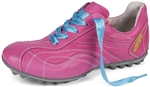 Henry & Magda Vitello/Nappa Ladies Golf Shoe-Pink