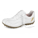 Henry & Magda Vitello/Nappa Ladies Golf Shoe-White