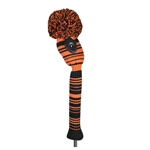 Just4Golf Hybrid Headcover Variegated Stripe Orange/Black