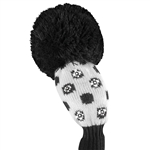 Just4Golf Sparkle Hybrid Black/White Small Dots