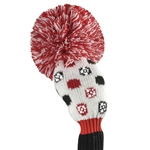 Just4Golf Hybrid Headcovers Sparkle Small Multi Dot Red/Black