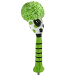 Just4Golf Hybrid Headcover - Lime Multi Dot