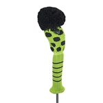 Just4Golf Fairway Medium Lime/Black Dot