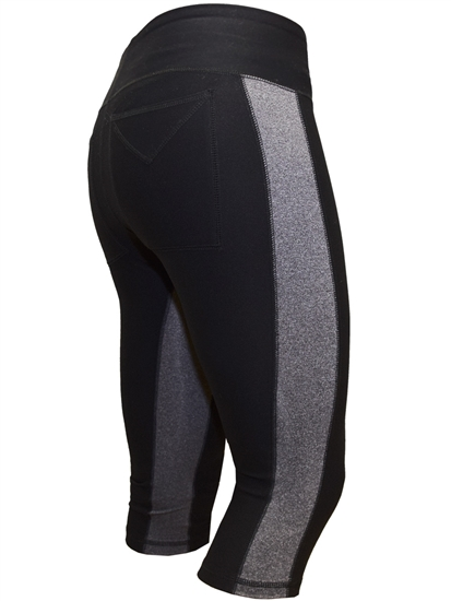 JoFit Magic Tights Capri- Black