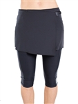 JoFit Wrap Pocket Skirt - Black