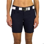 "JoFit Belted 7.5"" Midnight Golf Short"