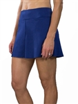 JoFit Jacquard Swing Tennis Skort - Blue Depth