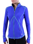 JoFit Amplified Thumbs Up Jacket - Cobalt