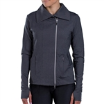 JoFit Lifestyle Jet Set Jacket Heathered Grey