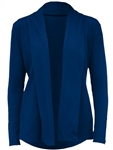 JoFit Chalet Cardigan - Blue Depth