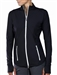 Jofit Tipped Thumbs Up Fitness Jacket - Black