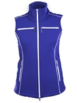 JoFit Piped Performance Vest - Blue Depth