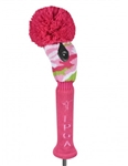 LPGA Fairway Headcover - Pink Passion