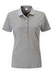 PING Faraday Short Sleeve Golf Polo - PAsh Grey