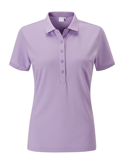 PING Sumner Short Sleeve Golf Polo - Viola
