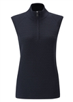 PING Sofia 1/2 Zip Pullover Vest - Navy