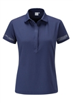 PING Mila Short Sleeve Golf Polo - Deep Cobalt